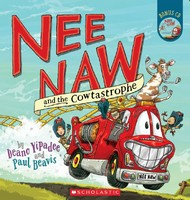 Image of Nee Naw And The Cowtastrophe : Book + Cd