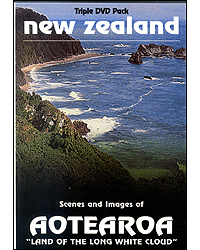 Ghosts Of Gondwana Dvd Nz Scenes & Images Of Aotearoa Land Of The Long White Could Dvd