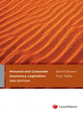 Image of Personal And Corporate Insolvency Legislation Guide