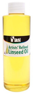 Image of Linseed Oil Fas 250ml Bottle