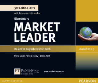Image of Market Leader Extra : Elementary Class Audio Cds