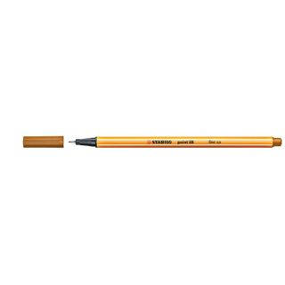 Image of Pen Stabilo Point 88 Fine 0.4mm 88/89 Ochre