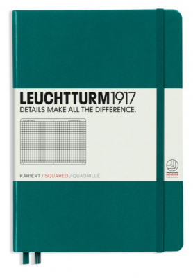 Image of Journal Leuchtturm 1917 Medium Squared Pacific