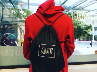 Image of Drawstring Bag Aut Merchandise