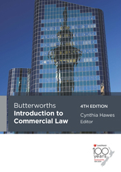 Image of Butterworth's Introduction To Commercial Law