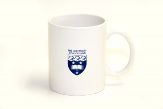 Image of Auckland University Sports Crest Mug White