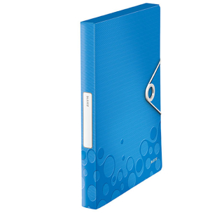 Image of Box File Leitz Wow A4 Blue