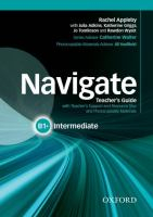 Navigate : Intermediate B1+ : Teacher's Guide With Teacher'ssupport And Resource Disc And Photocopiable Material