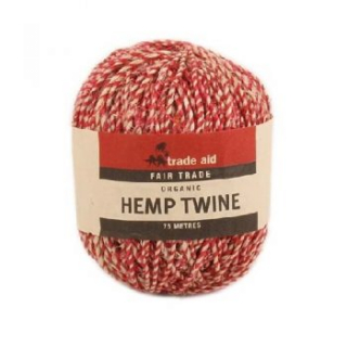 Image of Natural And Red Twine