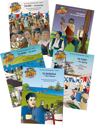 Image of The Chronicles Of Paki Series 3: The Treaty Of Waitangi : 5 Title Set