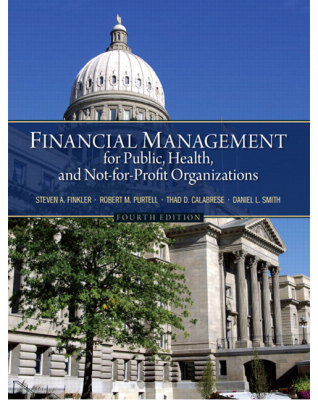 Image of Financial Management For Public Health And Not For Profit Organizations
