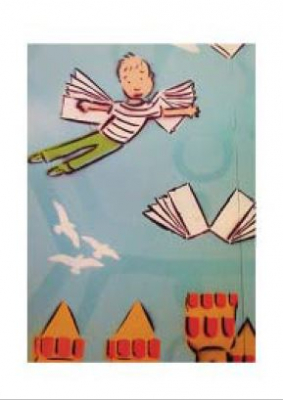 Image of Street Art Print : Fly Away