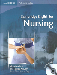 Image of Cambridge English For Nursing : Intermediate To Upper Intermediate : Audio Cds (2)