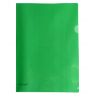 Image of File L Shaped Pocket Esselte A4 Green