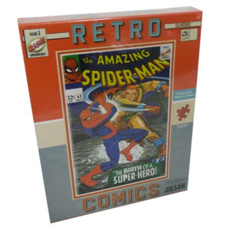 Image of Spiderman : Retro Puzzle