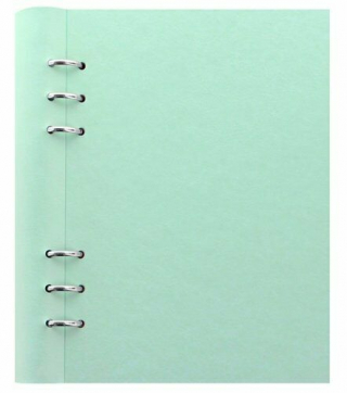 Image of Notebook Filofax Clipbook A5 Duck Egg