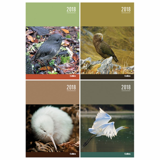 Image of Diary 2018 Collins A53 Nz Birds Assorted