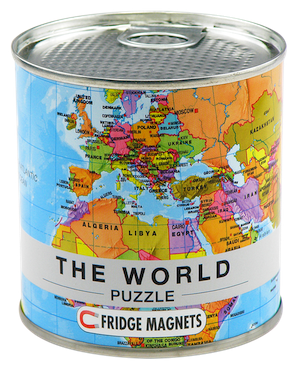 Image of Magnetic Puzzle 100 Piece : World