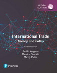International Trade Theory And Policy Global Edition