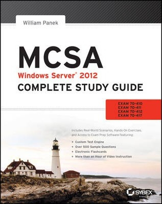 Image of Mcsa Windows Server 2012 Complete Study Guide : Exams 70-41070-411 70-412 And 70-417