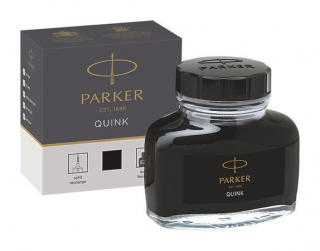 Image of Ink Parker Quink 57ml Bottle Black