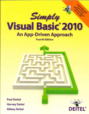 Image of Simply Visual Basic 2010 : An App Driven Approach