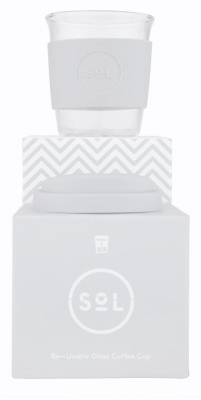 Image of Cool Grey 8oz Cup : Sol Cup