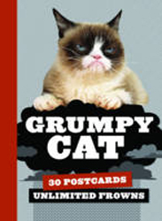 Image of Grumpy Cat Postcard Book