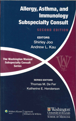 Image of Washington Manual Of Allergy Asthma And Immunology Subspecialty Consult