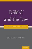 Image of Dsm-5 And The Law : Changes And Challenges