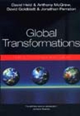 Image of Global Transformations : Politics Economics And Culture