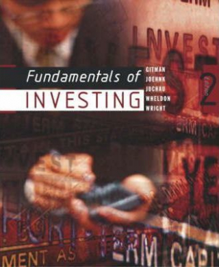 Image of Fundamentals Of Investing : Australian Edition