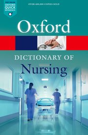 Image of Oxford Dictionary Of Nursing