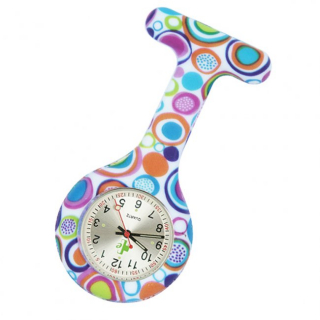 Image of Nurses Watch Silicone Fob Retro