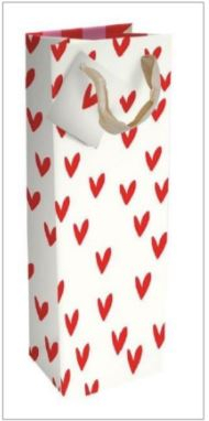 Image of Caroline Gardner Hearts Bottle Bag
