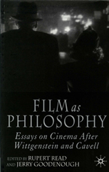 Image of Film As Philosophy : Essays In Cinema After Wittgenstein & Cavell