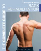 Image of Complete Guide To Back Rehabilitation