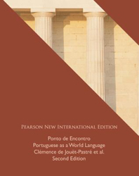 Image of Ponto De Econtro : Portuguese As A World Language : International Edition