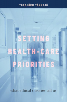 Image of Setting Health-care Priorities : What Ethical Theories Tell Us