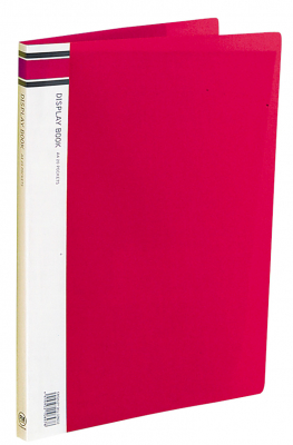 Image of Display Book 20p Fm A4 Red