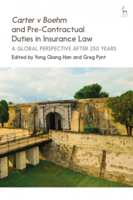 Image of Carter V Boehm And Pre-contractual Duties In Insurance Law :a Global Perspective After 250 Years