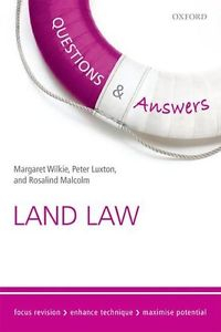 Questions And Answers Land Law : 2015-2016