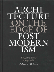 Image of Architecture On The Edge Of Postmodernism Collected 1964-1988