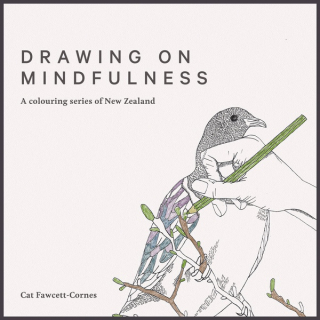 Image of Drawing On Mindfulness : A Colouring Series Of New Zealand