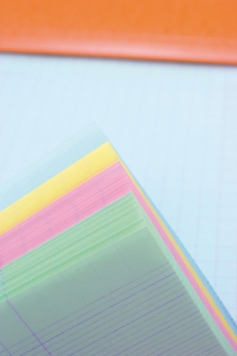 Image of Pad Bloc Rhodia A4+ Lined Rainbow Paper