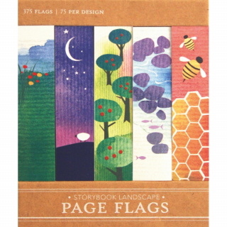 Image of Page Flags : Storybook Landscape