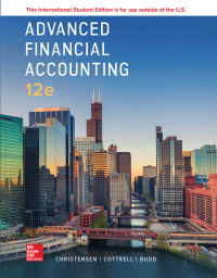 Image of Advanced Financial Accounting