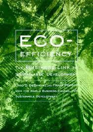 Image of Eco Efficiency The Business Links To Sustainable Development
