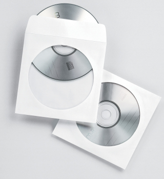 Image of Cd/dvd Envelope Fellowes Paper Window Single