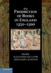 Image of Production Of Books In England 1350-1500